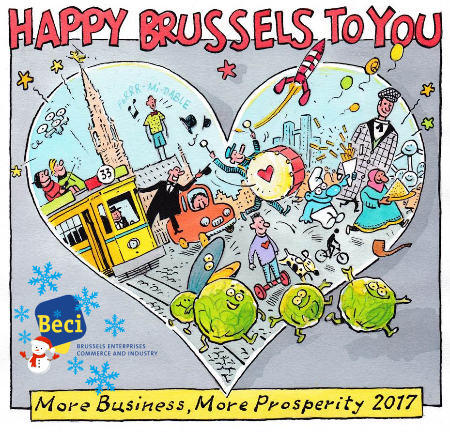Happy 2017 - Happy Brussels